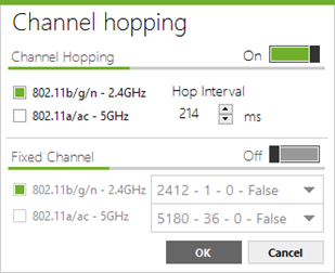 Channel hopping configuration