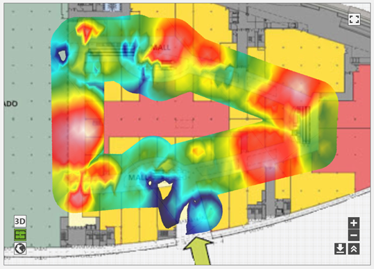 wifi blueprint heat map