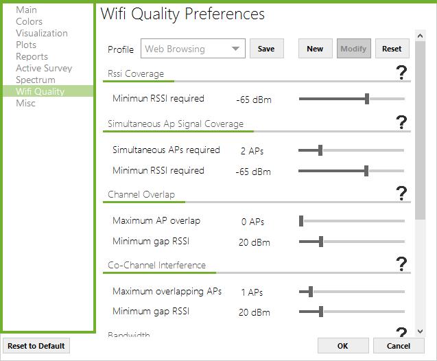 wifi quality checklist