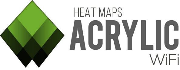 Neues Design von Heatmaps. Die Software um die WLAN-Abdeckung zu messen.