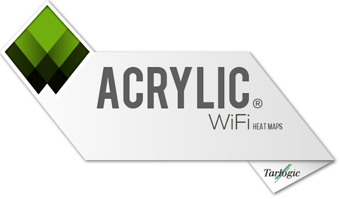 Acrylic Heatmaps - The Wi-Fi Coverage Measurement Software