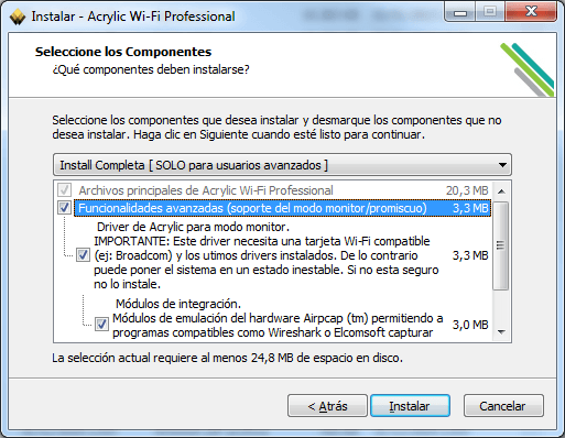 installer le sniffer Wi-Fi sous Windows