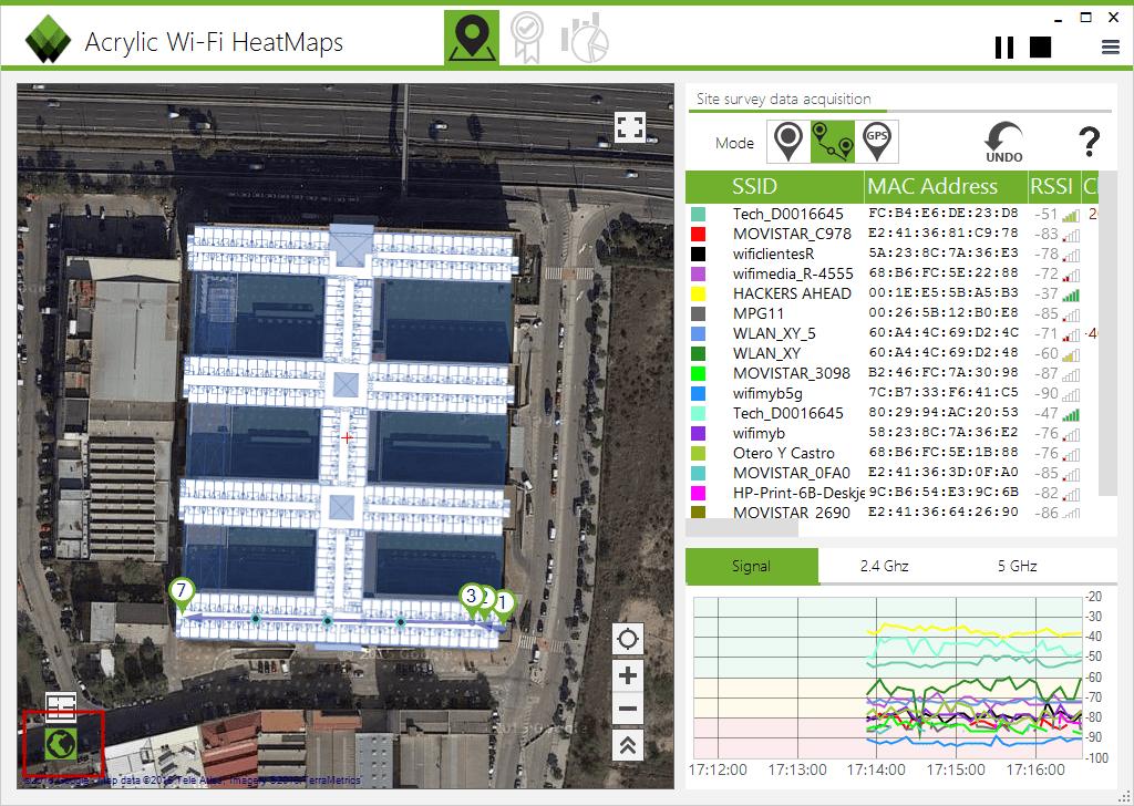 Wi-Fi Monitoring - Wi-Fi Site Survey Measurements
