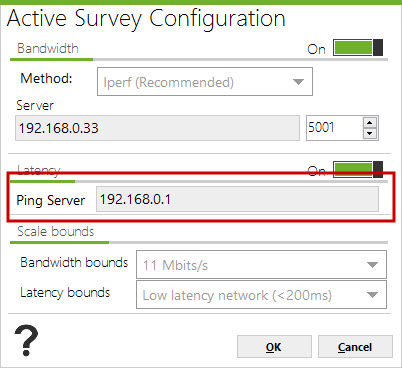 Active-Survey-Latency