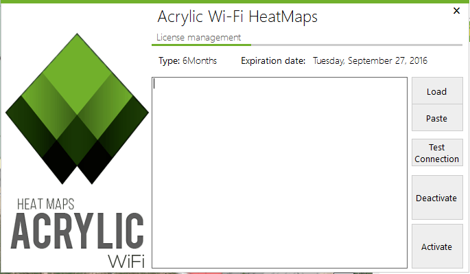 Acrylic WiFi Heatmaps license code