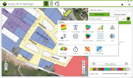 Tipos de mapas de análisis de cobertura