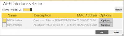 modo monitor Acrylic WiFi