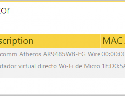 Modo monitor y modo de captura nativa en Acrylic WiFi