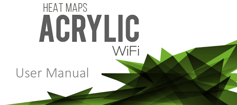 Acrylic WiFi site survey manual