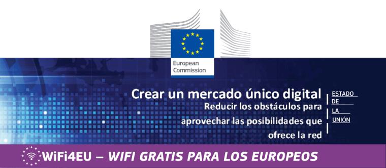 WiFi4EU – Acceso universal por Wi-Fi a internet gratis en la Unión Europea