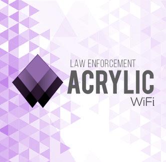 Acrylic Wi-Fi LEA Logo Background