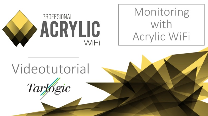 Monitoring with Acrylic Wifi