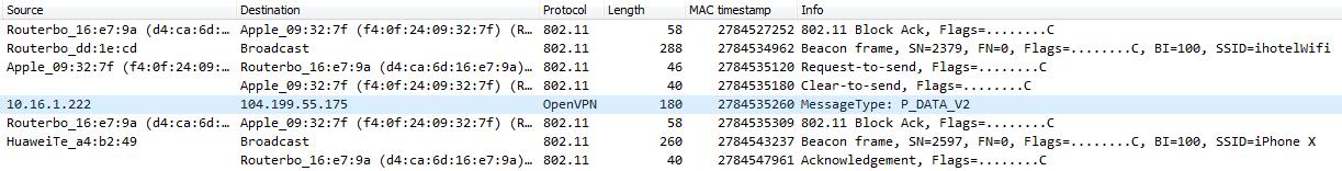 wifi traffic analysis